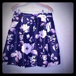 Charlotte Russe Flower Skirt